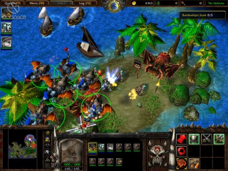 Тактика онлайн игры Warcraft III: The Frozen Throne за Орду