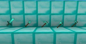 Оружие, используемое в Майнкрафте