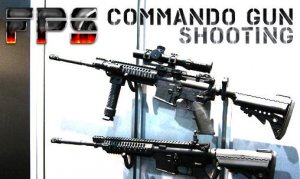 FPS : Commando gun shooting