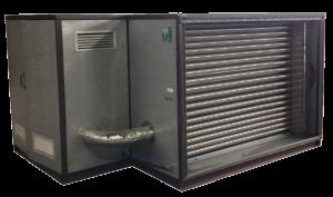 Что собой представляет конструкция газового теплогенератора?